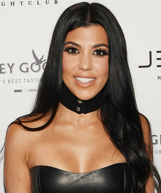 Lingerie-Clad Kourtney Kardashian Is Glowing In Her Latest Instagram Photoshoot