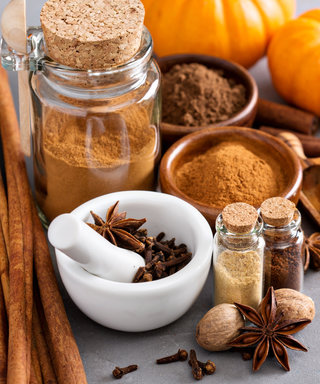 This Pumpkin Spice Mani Contains Actual Pumpkin Spices