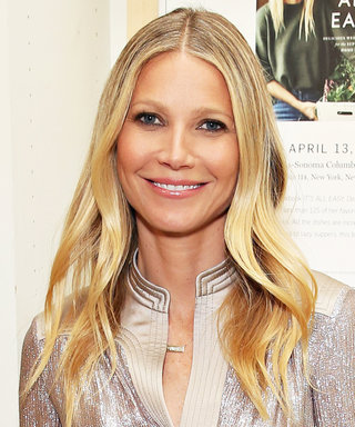 Gwyneth Paltrow Takes a Sandy Snooze in a Tiny Blue Bikini