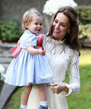 Watch Princess Charlotte Play with Balloons and Cuddle a Bunny with Prince George in Canada