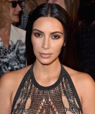 "Kim Kardashian West Channels ""Parisian Vibes"" in a Topless Selfie"