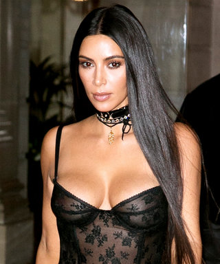 Kim Kardashian West Debuts a Very Unexpected Diamond Accessory