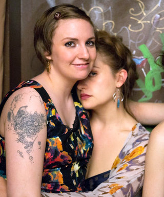 Lena Dunham Bids Goodbye to Girls on the Final Day of Filming