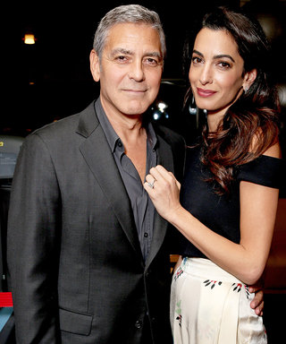 Amal and George Clooney Are the Perfect Matching Couple at L.A. Charity Event