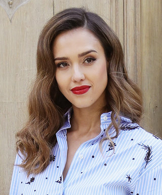 We're Obsessed with Jessica Alba's Valentino Look from the Designer's PFW Show