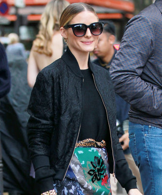 Olivia Palermo Shows Her Take on Fall Florals During Paris Fashion Week