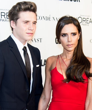 Brooklyn Beckham Is a Total Mama's Boy While Cozying Up to Victoria Beckham