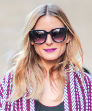 First Navy, Now Violet: Olivia Palermo Proves She Can Do No Wrong in Bold Beauty Looks at PFW
