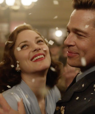 The Steamy New Allied Trailer with Brad Pitt and Marion Cotillard Will Have You at the Edge of Your Seat