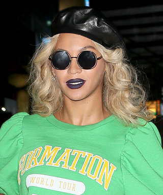 Beyoncé's Navy Blue Lipstick Is Proof that Indigo Is the New Red