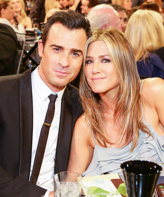 """Justin Theroux Says Jennifer Aniston Is a """"Proper Badass"""": """"It's an Honor to Stand Behind Her"""""""