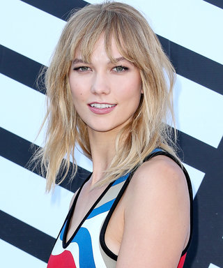 Karlie Kloss Ends Paris Fashion Week with a Bang—Literally