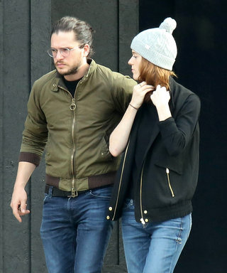 Real-Life GoT Couple Kit Harington and Rose Leslie Take a Cozy Stroll in Northern Ireland
