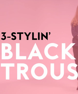 Watch 3 Ways to Style Your Classic Black Pants