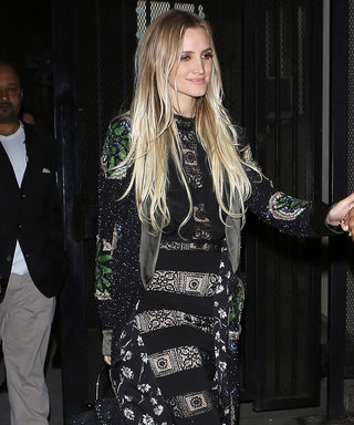 Ashlee Simpson Masterfully Mixes Boho Prints for L.A. Date Night with Evan Ross