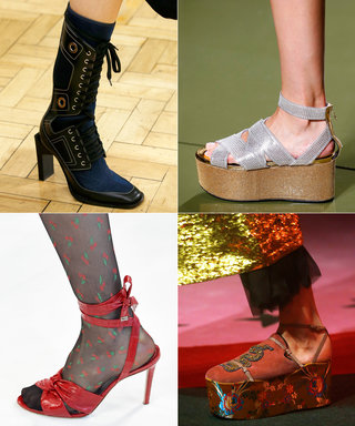 The 39 Shoes of Spring 2017 Fashion Month That We Can't Stop Thinking About