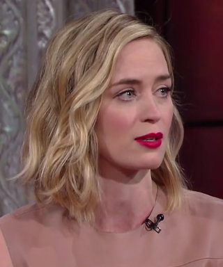 Emily Blunt and Stephen Colbert Wind Up Screaming in a Line-Reading Showdown