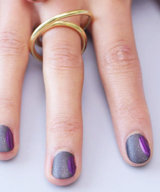 Nail Art Know How: Purple Moon