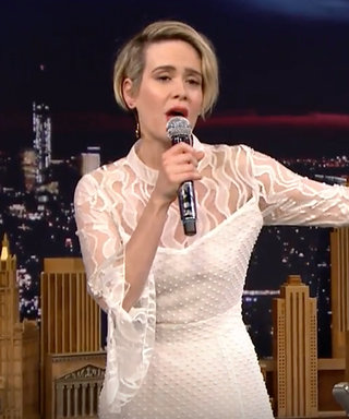"Sarah Paulson Can Rap Salt-N-Pepa's ""Shoop""—Watch Her Flawless Performance"