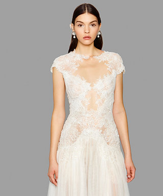 This Is How Marchesa Makes the Sheer Trend Work for Brides