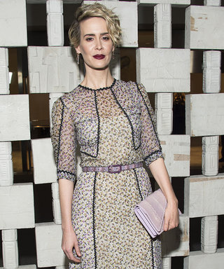Sarah Paulson and Emma Roberts Dazzles at the Hammer Museum Gala