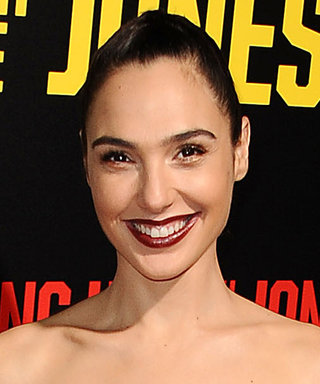 Gal Gadot Shines in Metallics at the Keeping Up with the Joneses Premiere