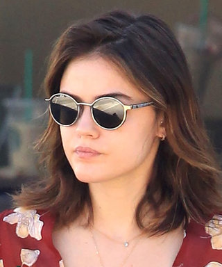 Lucy Hale's Flirty Floral Top and Skinny Jeans Are the Perfect Addition to Your Fall Wardrobe