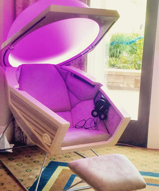 This Is What It's Like to Sit in a Personal Meditation Pod for 20 Minutes
