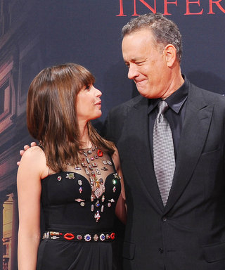 Co-Stars Felicity Jones and Tom Hanks Reunite on the Red Carpet for the German Premiere of Inferno