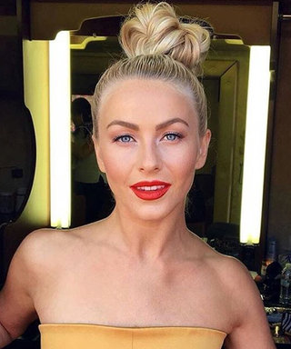 This Is How You Do Julianne Hough's Epic Flip Tail Braid