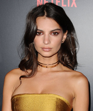 Emily Ratajkowski Flaunts Her Taut Abs at a Dodgers Game