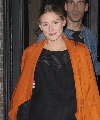Olivia Palermo Proves She's a Fashion Superhero in an Orange Cape-Like Trench