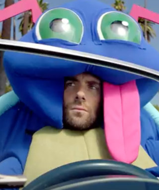"""Adam Levine Rocks Out in a Crazy Bug Costume in Maroon 5's """"Don't Wanna Know"""" Music Video"""