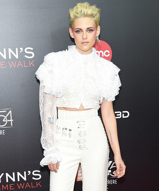 Kristen Stewart Slays the Red Carpet in Funky Head-to-Toe White