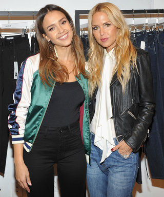 Jessica Alba Explains the Theory Behind Her 90's Supermodel-inspired Denim Line
