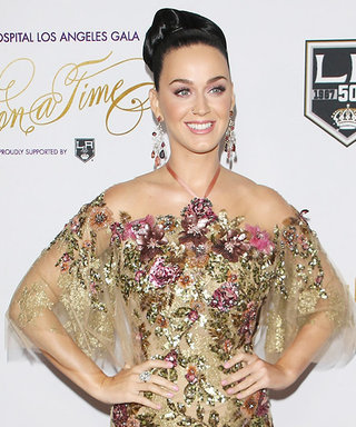 Katy Perry Is a Golden Goddess at Children's Hospital Gala