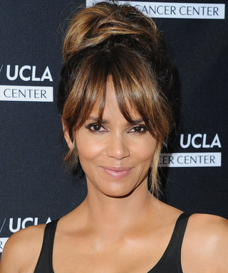 """Only Halle Berry Could Make Lazying Around on a """"Soul Sunday"""" Look So Sexy"""