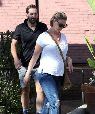 Katherine Heigl Flaunts Her Growing Baby Bump While Out to Lunch with Husband Josh Kelley