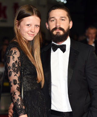Turns Out, Shia LaBeouf and Mia Goth Aren't *Actually* Married