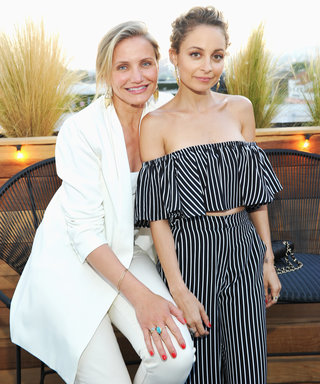 Sisters-in-Law Cameron Diaz and Nicole Richie Enjoy Pedicures and a Day at the Salon Together