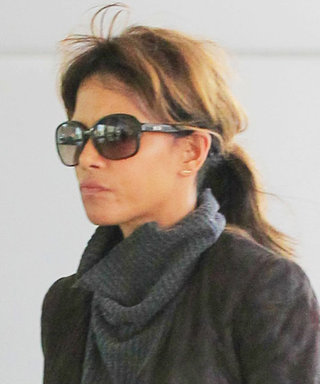 Halle Berry Smolders in Head-to-Toe Leather While Out in Beverly Hills