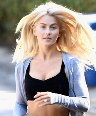 Julianne Hough Lets Her Hair Down on a Weekday Jog—and Looks Flawless