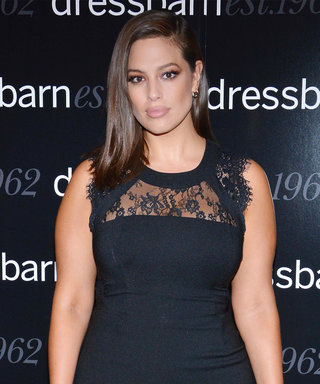 Ashley Graham Shows Off Her Killer Curves in a Sexy Lace LBD