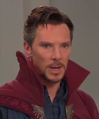Watch Benedict Cumberbatch as Doctor Strange Try to Entertain Children at a Party