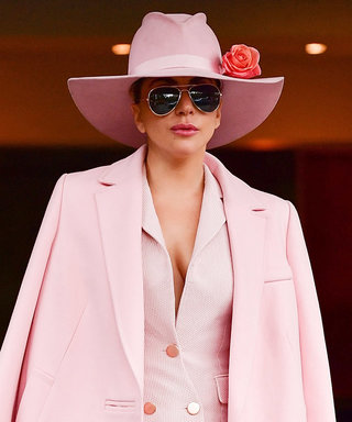 Lady Gaga Celebrates Her Album Release in Head-to-Toe Pink