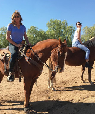 Kendall and Caitlyn Jenner Saddle Up for Some Quality Time Together