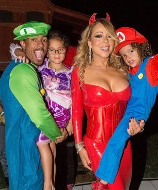 Mariah Carey Sizzles in Sexy Devil Costume at Her Annual Halloween Party