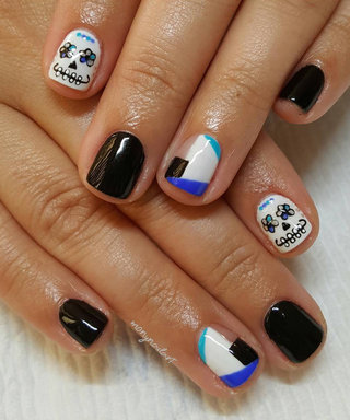 This Is the Coolest Halloween-Inspired Nail Art on Instagram Right Now