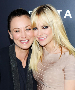 Kaley Cuoco and Anna Faris Party Atop a Red BMW