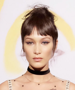 Bella Hadid Sizzles in a Sheer Gown at a Dior Beauty Event